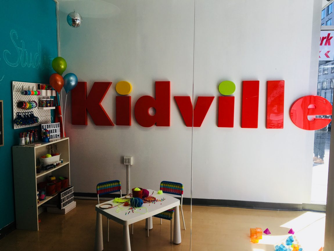 The Best gym class? Heroes in training at Kidville!