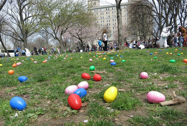 How many Easter Eggs Hunt can you possibly find in New York City?